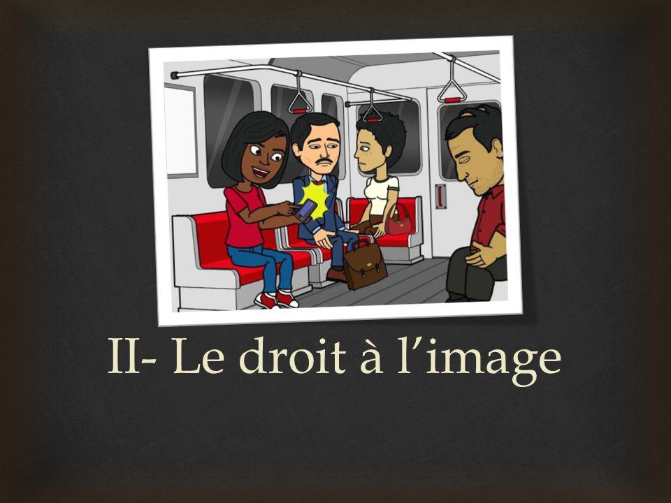 II- Le droit à l'image