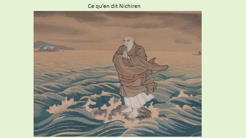 Ce qu'en dit Nichiren
