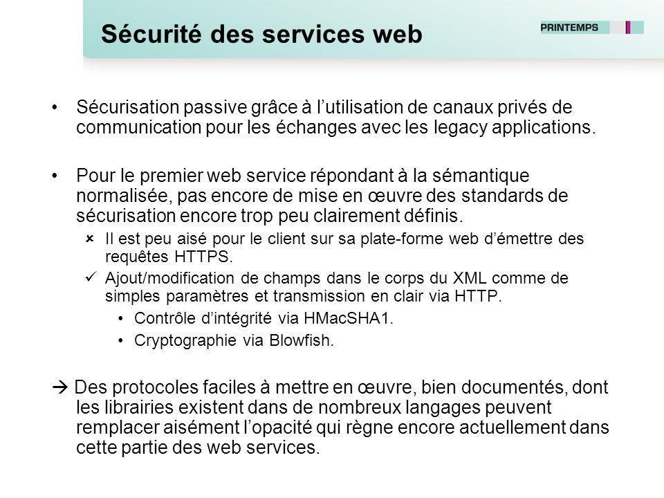 Sécurité des services web