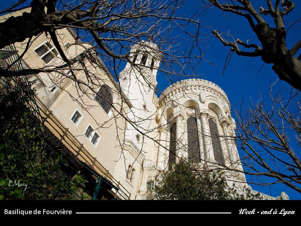 Week - end à Lyon Basilique de Fourvière
