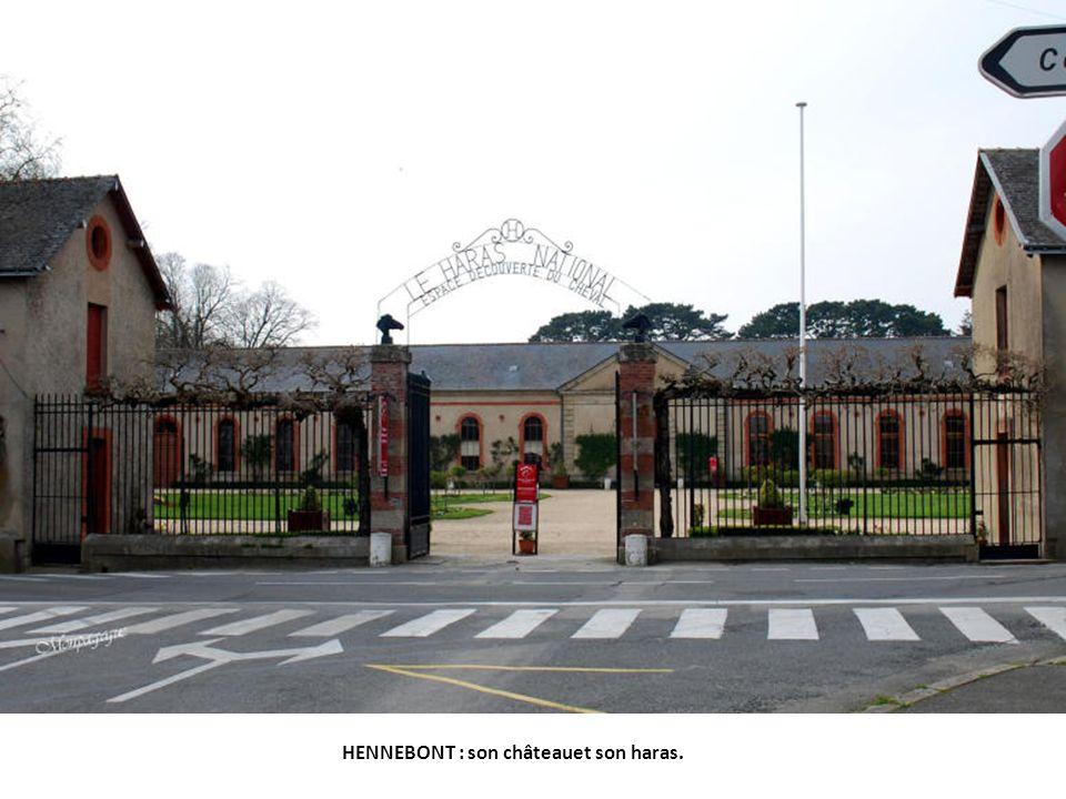 HENNEBONT : son château