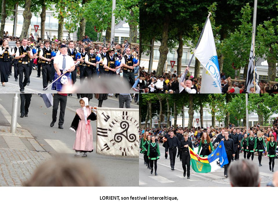 LORIENT, son festival interceltique,