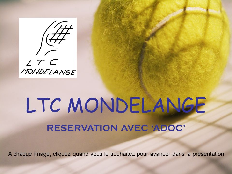 Reservation avec adoc ppt t l charger for Reserver avec booking