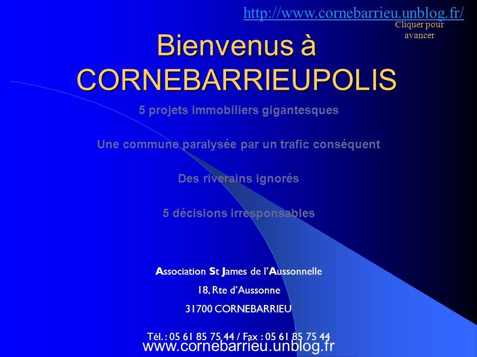 Bienvenus à CORNEBARRIEUPOLIS