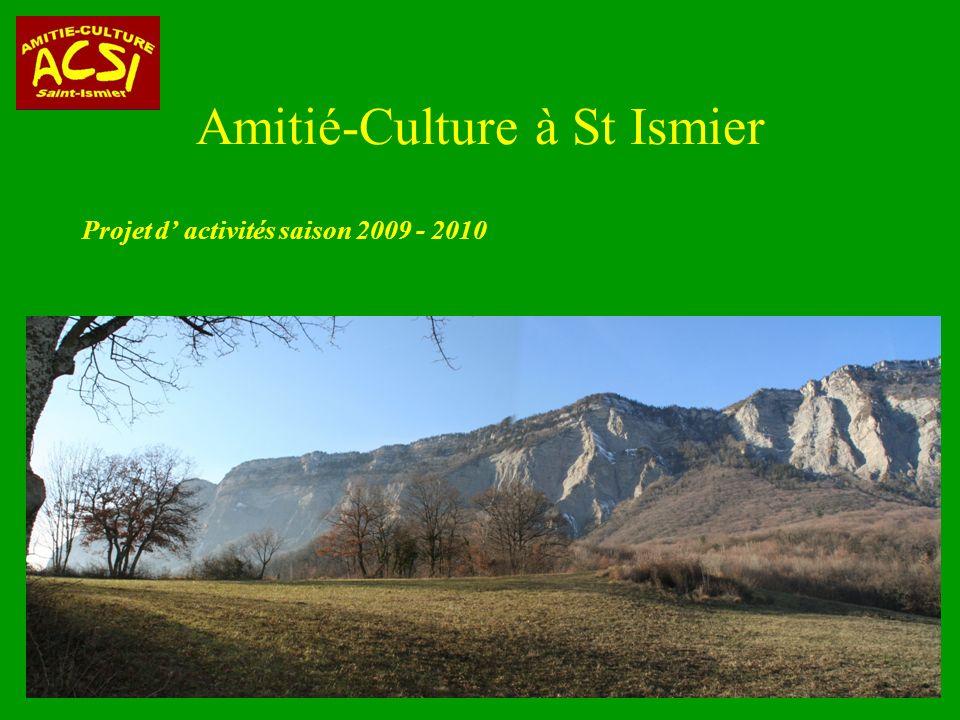 Amitié-Culture à St Ismier