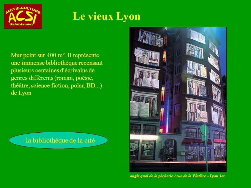 - la bibliothèque de la cité
