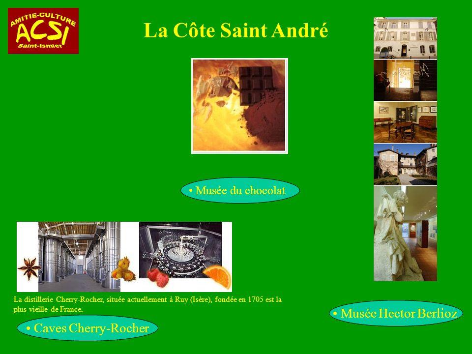 La Côte Saint André Musée Hector Berlioz Caves Cherry-Rocher