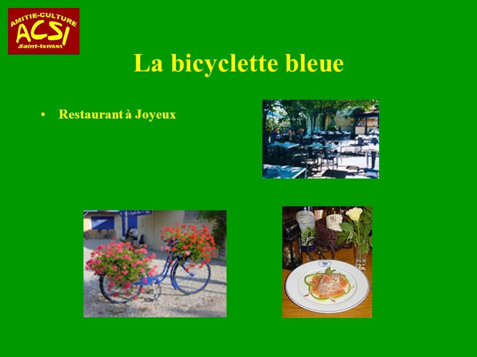 La bicyclette bleue Restaurant à Joyeux
