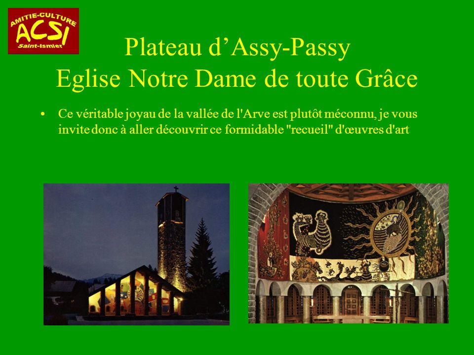 Plateau d'Assy-Passy Eglise Notre Dame de toute Grâce