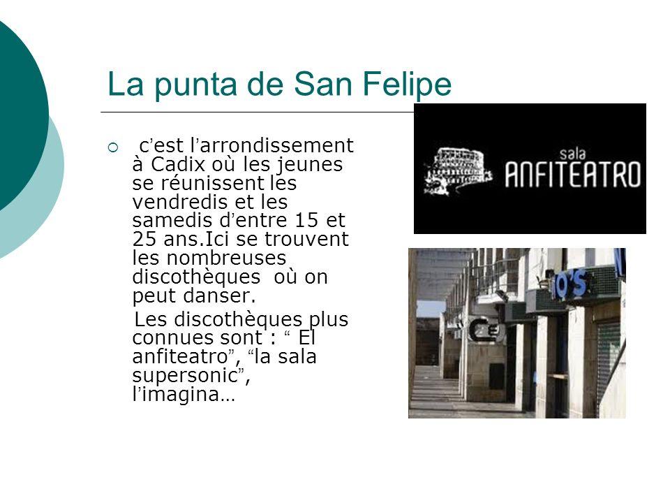 La punta de San Felipe