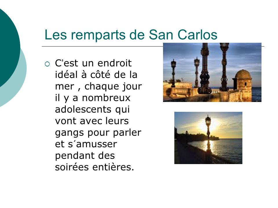 Les remparts de San Carlos