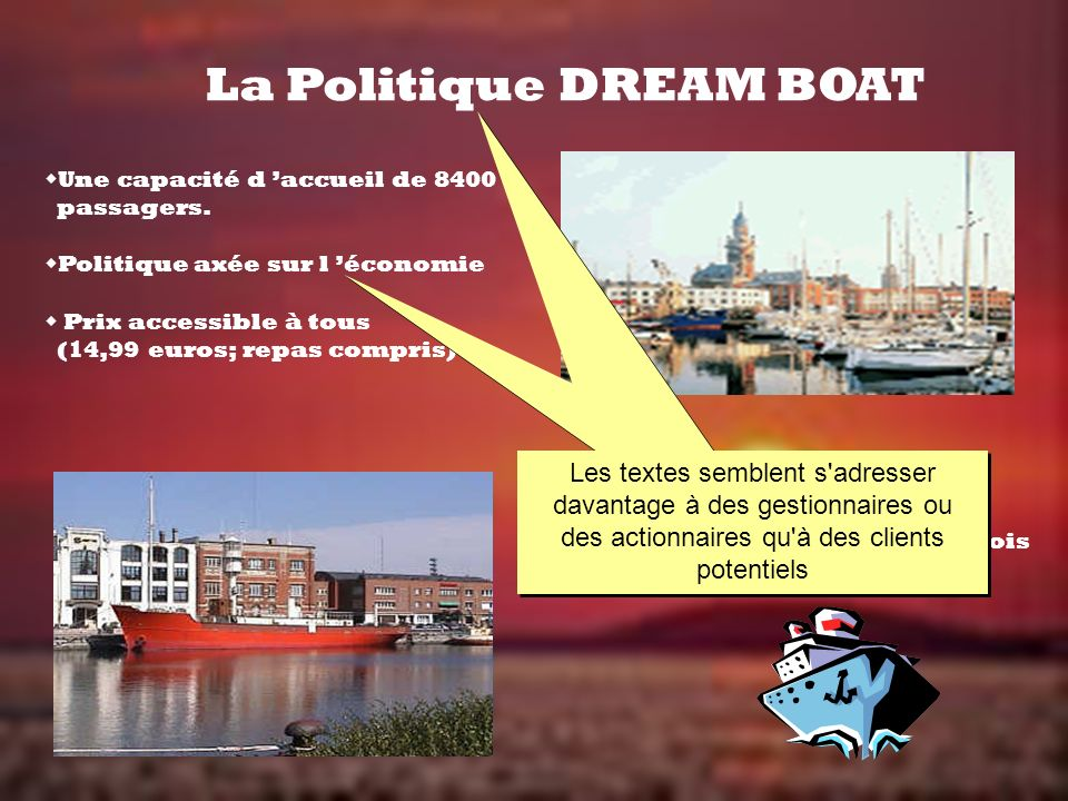 La Politique DREAM BOAT