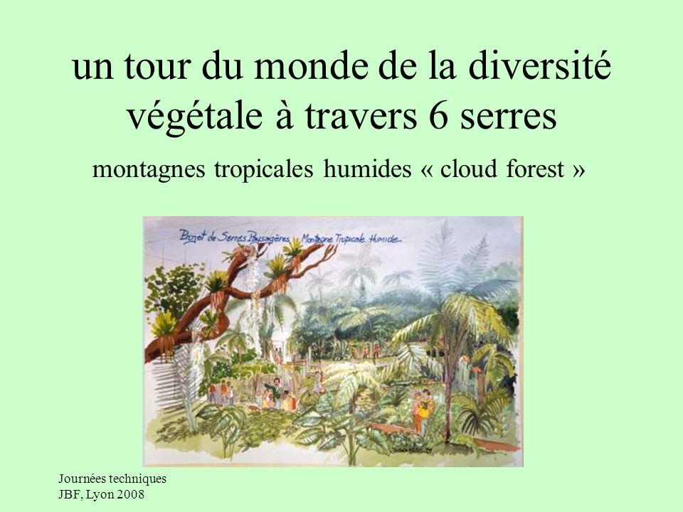 un tour du monde de la diversité végétale à travers 6 serres