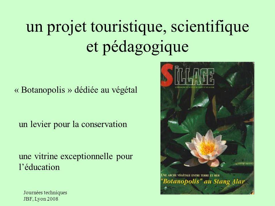 un projet touristique, scientifique et pédagogique