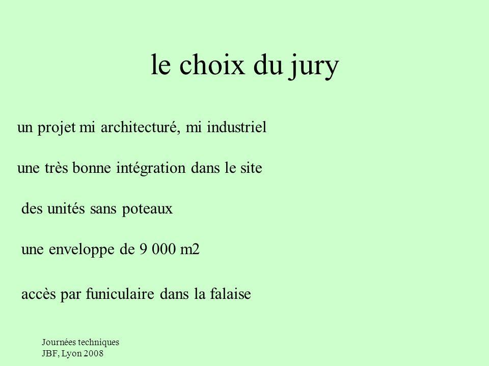 le choix du jury un projet mi architecturé, mi industriel