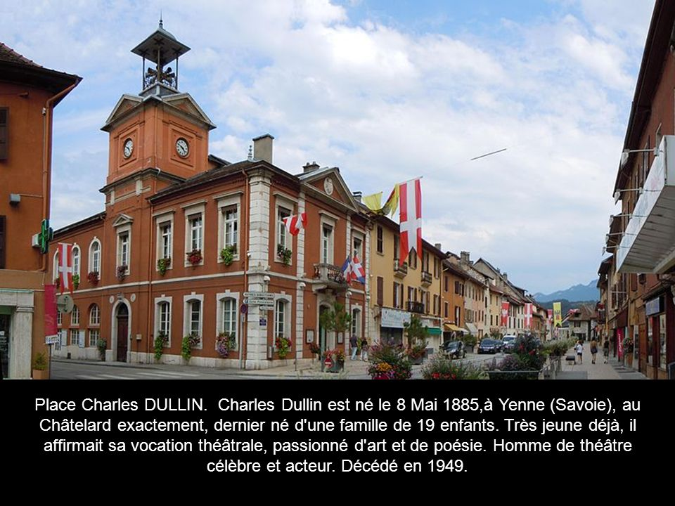 Place Charles DULLIN.