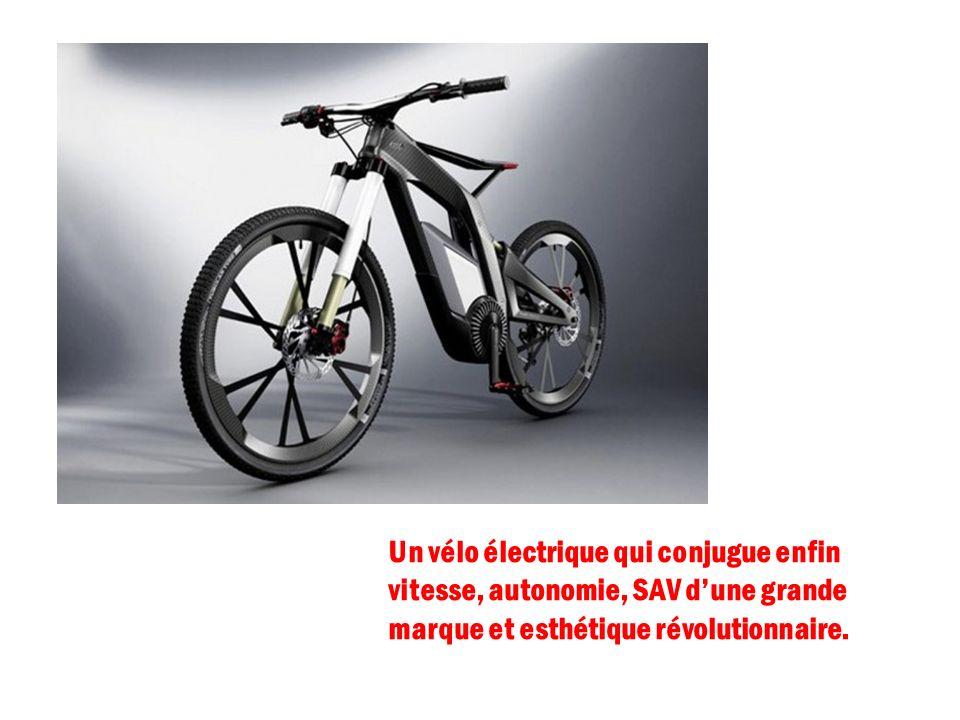 Un vélo électrique qui conjugue enfin