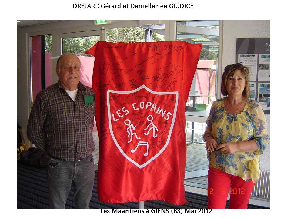 DRYJARD Gérard et Danielle née GIUDICE