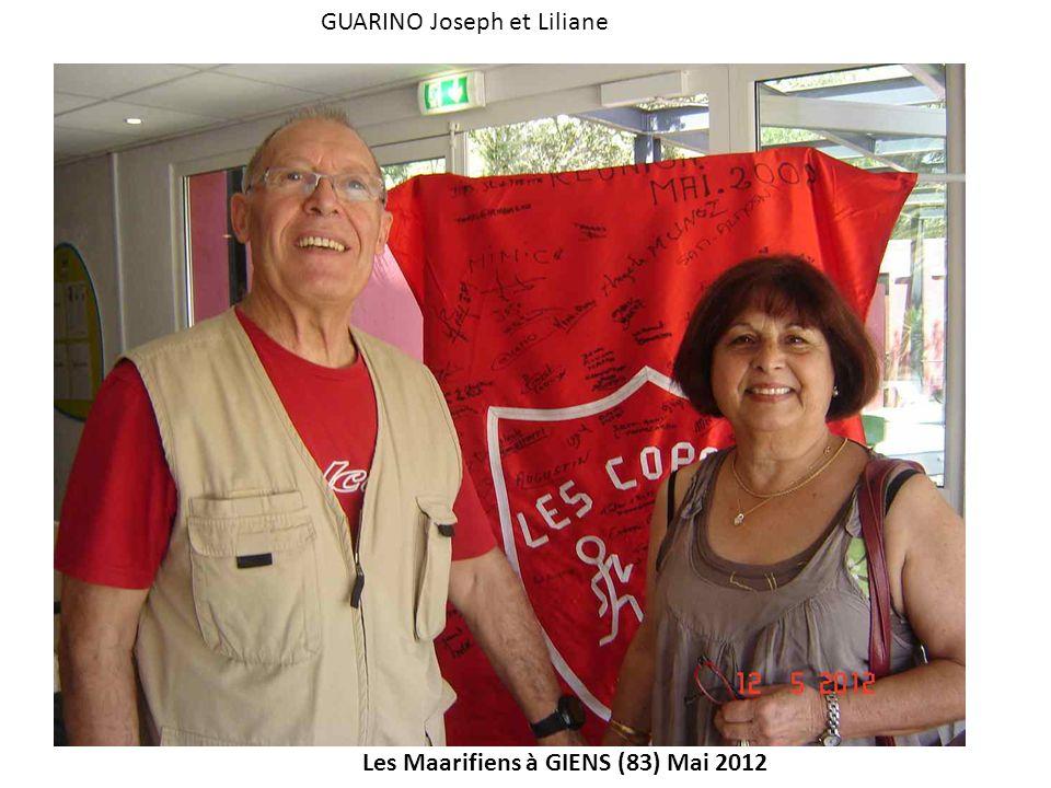 GUARINO Joseph et Liliane