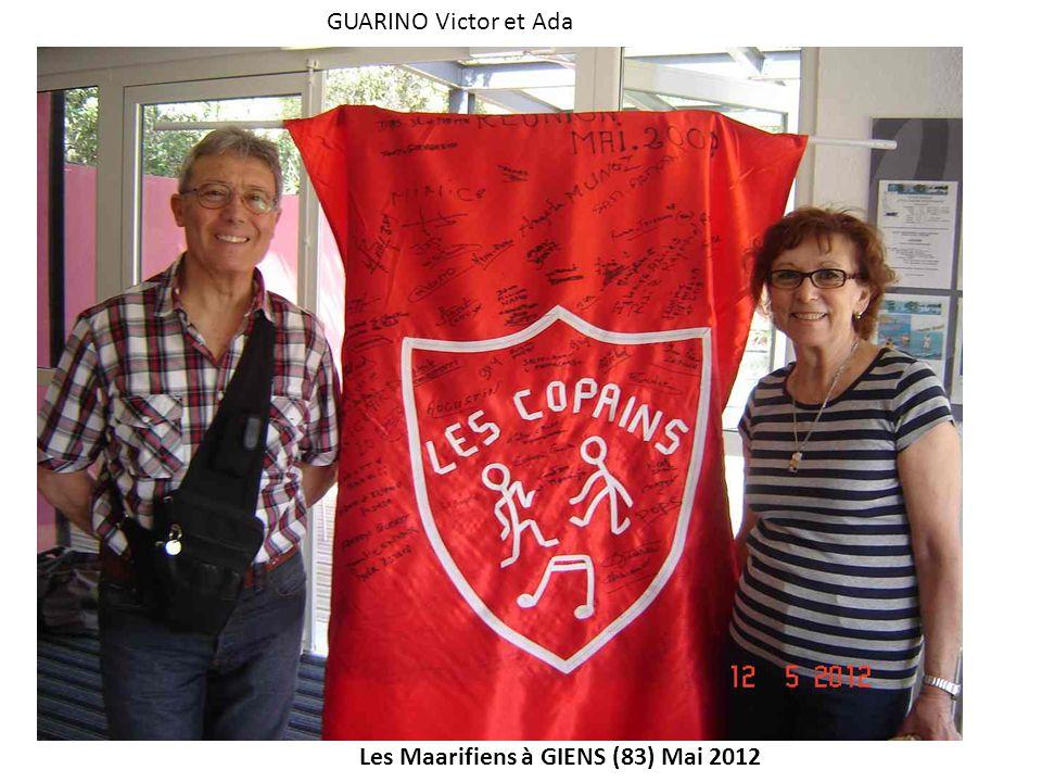 GUARINO Victor et Ada Les Maarifiens à GIENS (83) Mai 2012