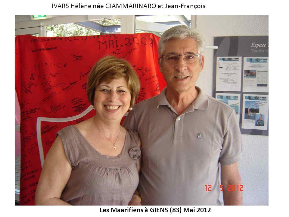 IVARS Hélène née GIAMMARINARO et Jean-François