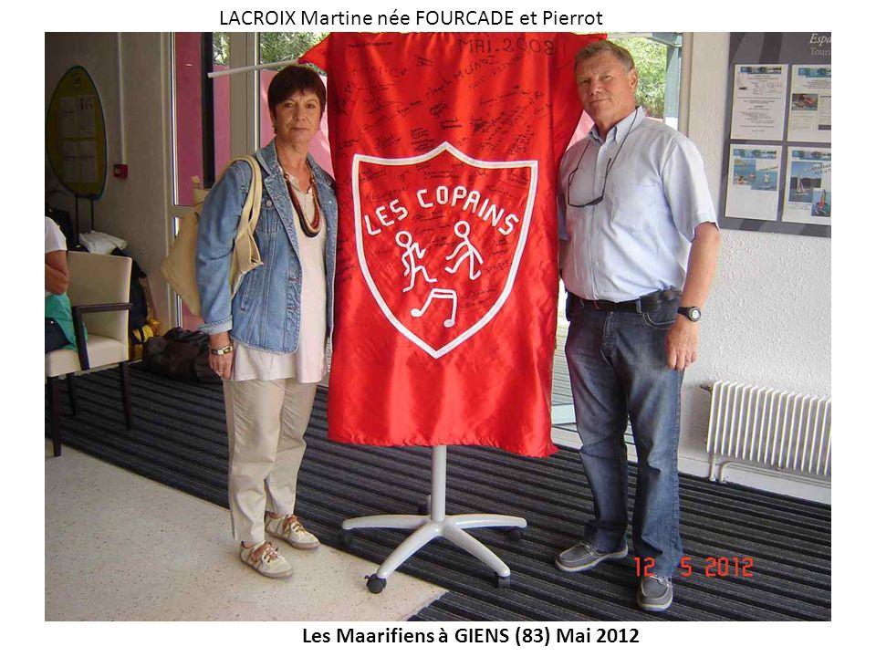 LACROIX Martine née FOURCADE et Pierrot