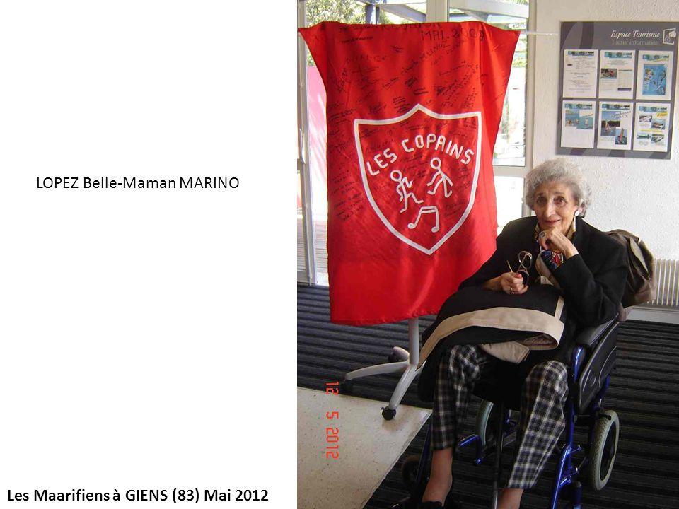 LOPEZ Belle-Maman MARINO