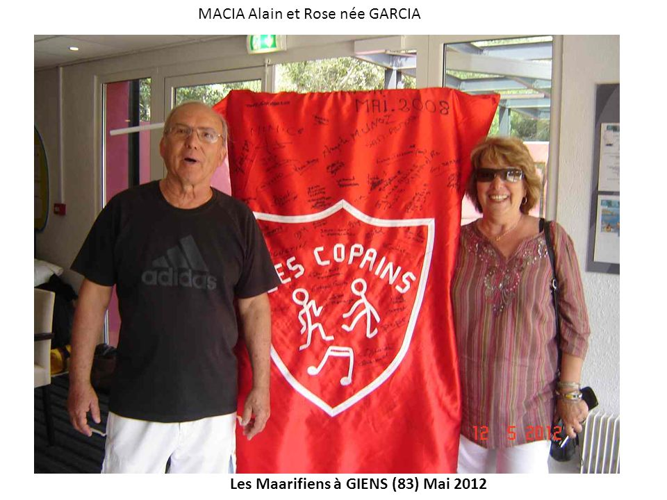 MACIA Alain et Rose née GARCIA