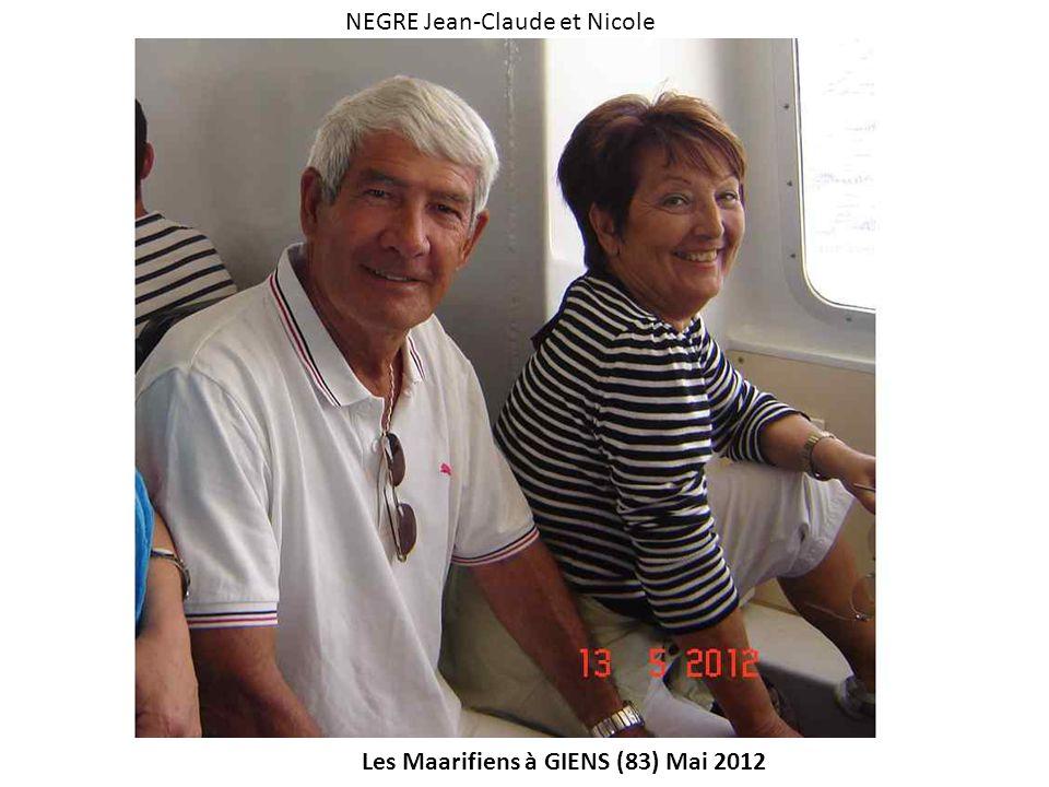 NEGRE Jean-Claude et Nicole