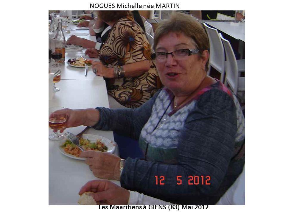 NOGUES Michelle née MARTIN