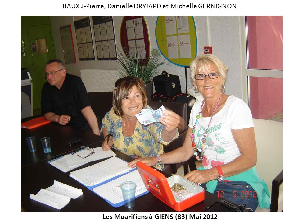 BAUX J-Pierre, Danielle DRYJARD et Michelle GERNIGNON