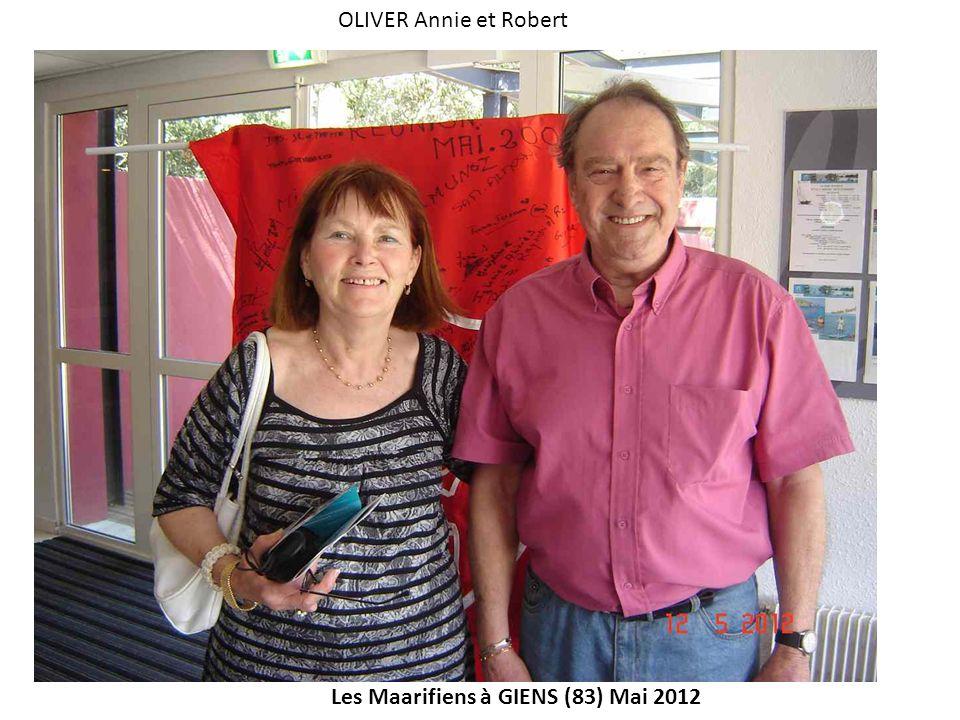 OLIVER Annie et Robert Les Maarifiens à GIENS (83) Mai 2012