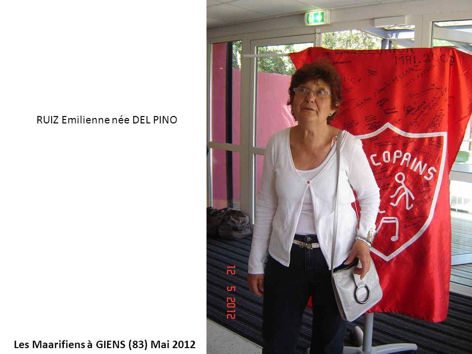 RUIZ Emilienne née DEL PINO