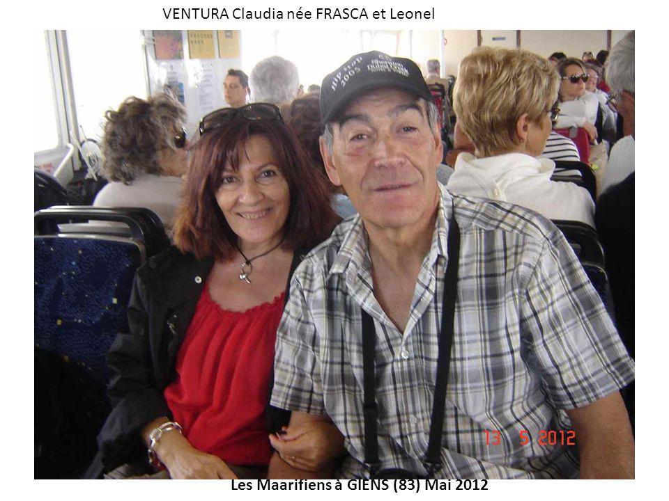 VENTURA Claudia née FRASCA et Leonel