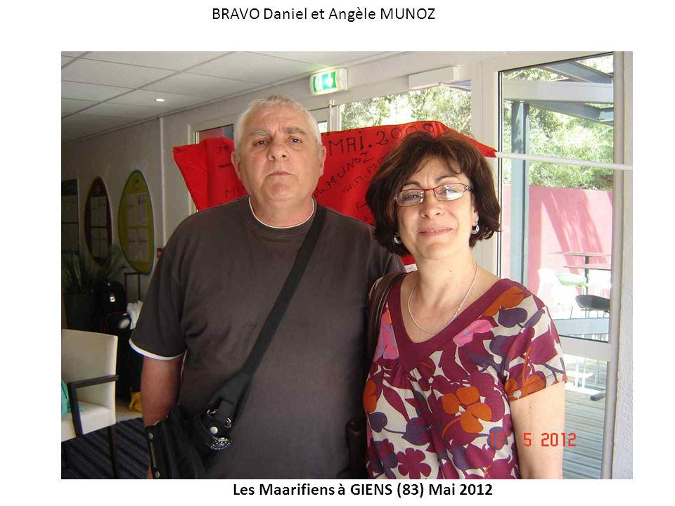 BRAVO Daniel et Angèle MUNOZ