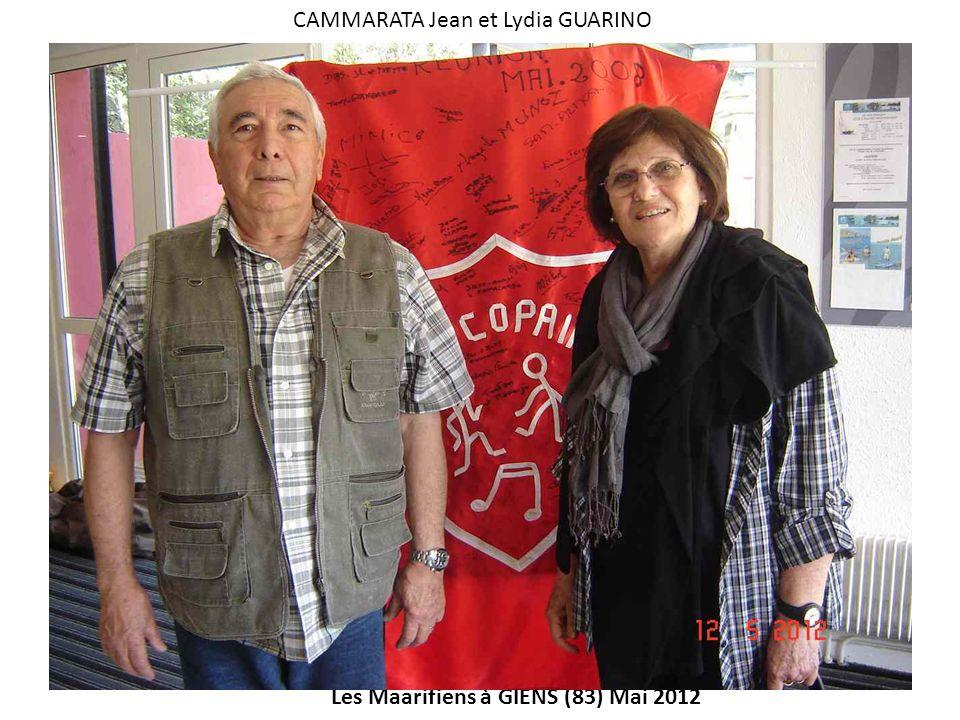 CAMMARATA Jean et Lydia GUARINO