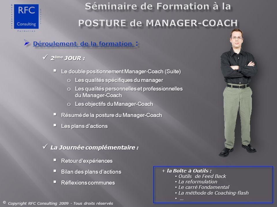 Séminaire de Formation à la POSTURE de MANAGER-COACH