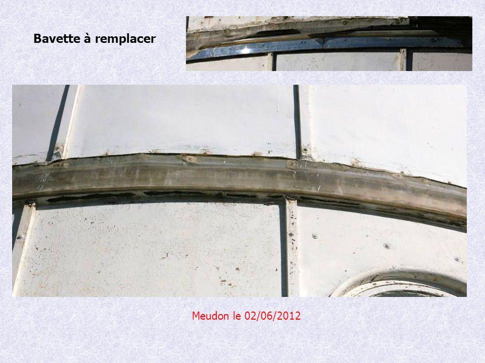 Bavette à remplacer Meudon le 02/06/2012