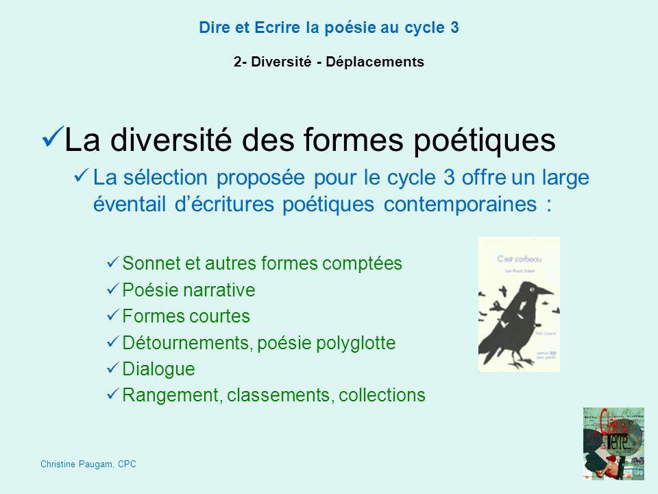 2- Diversité - Déplacements