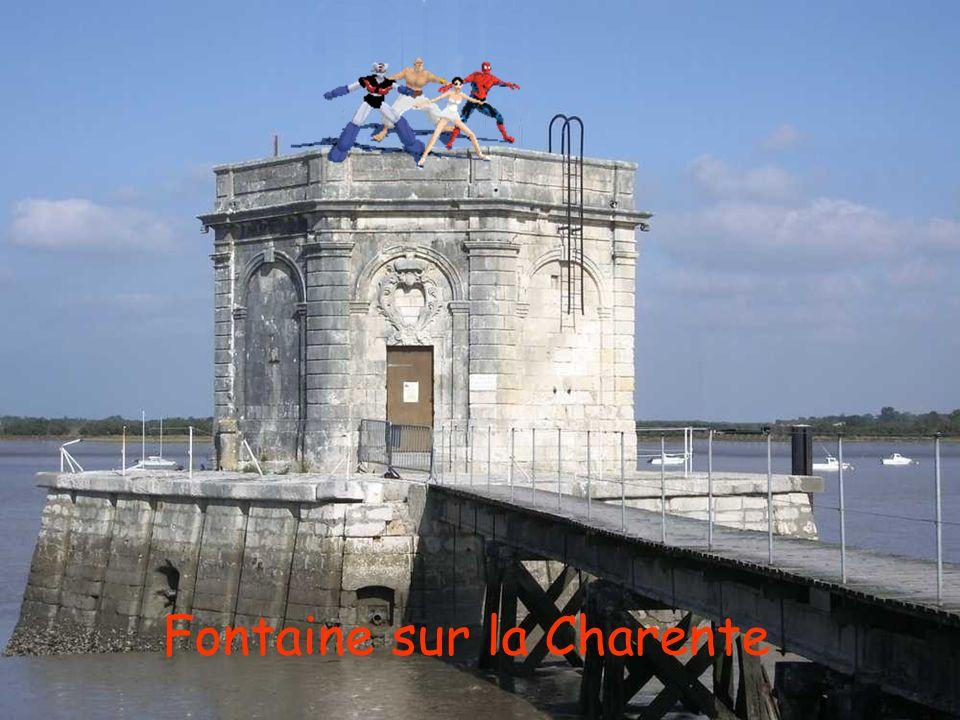 Fontaine sur la Charente
