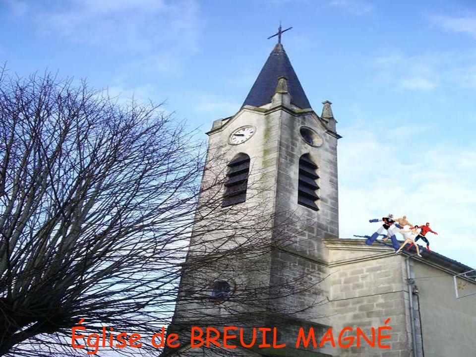 Église de BREUIL MAGNÉ