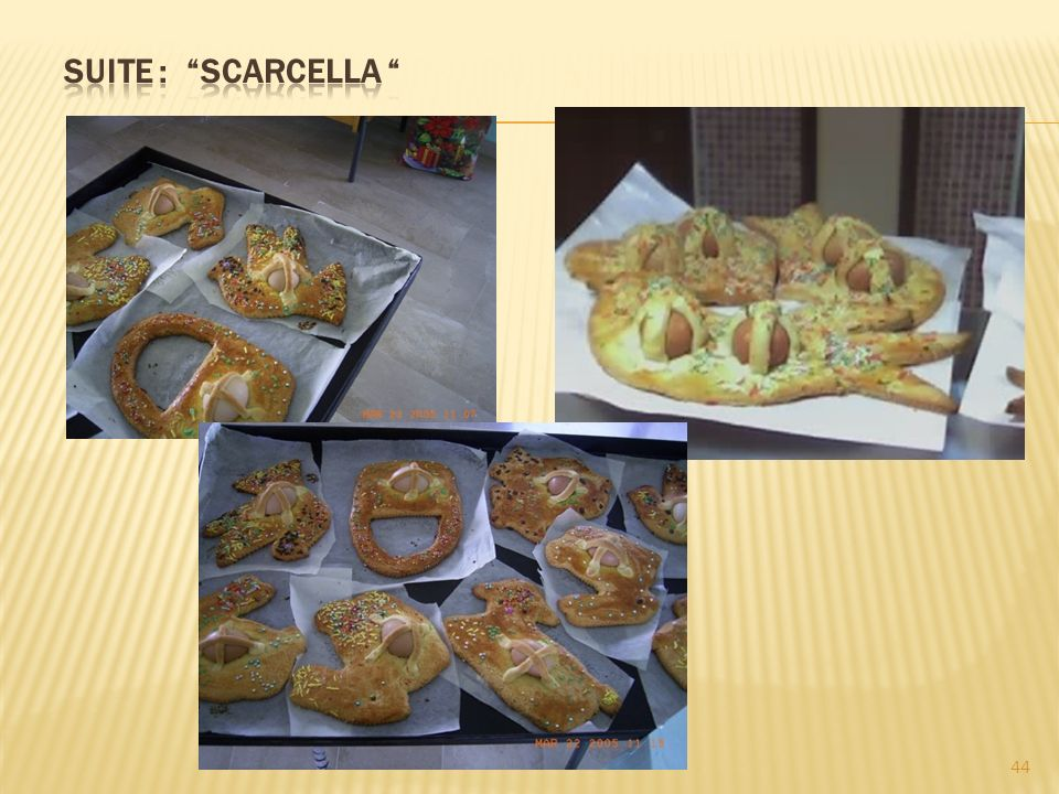 Suite : scarcella