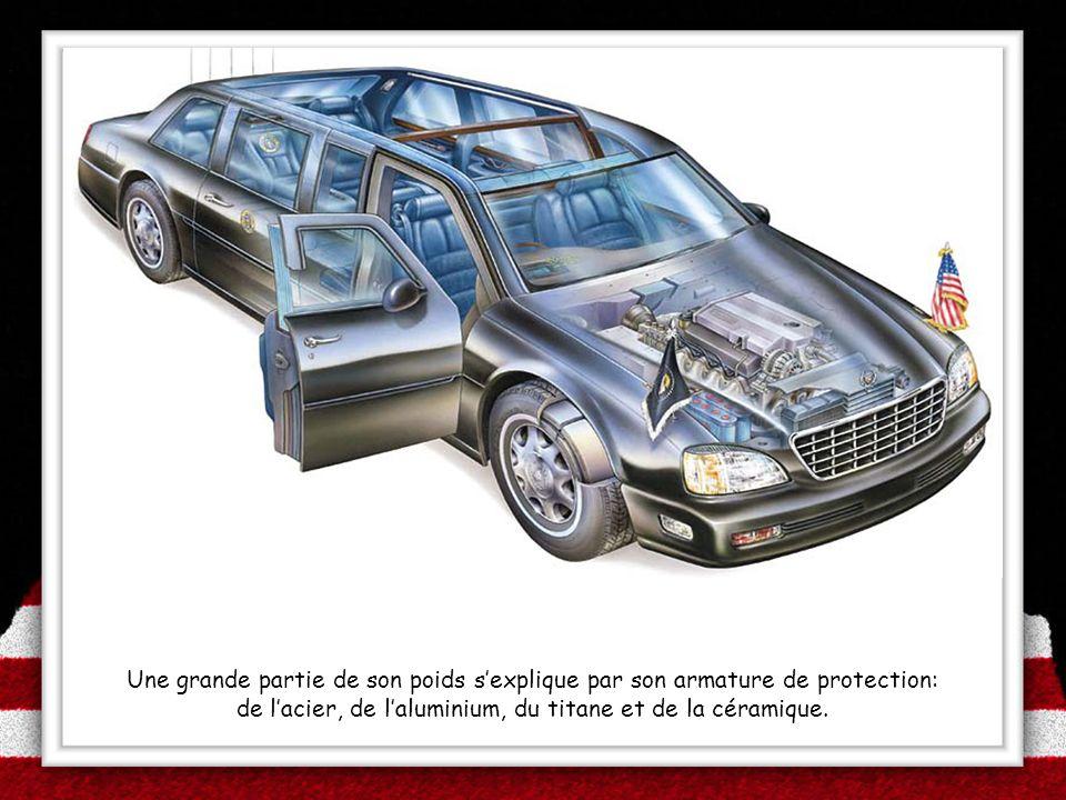 de l'acier, de l'aluminium, du titane et de la céramique.