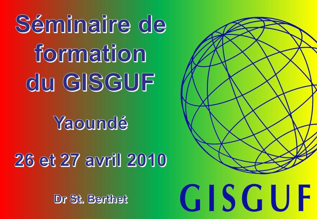 Séminaire de formation du GISGUF