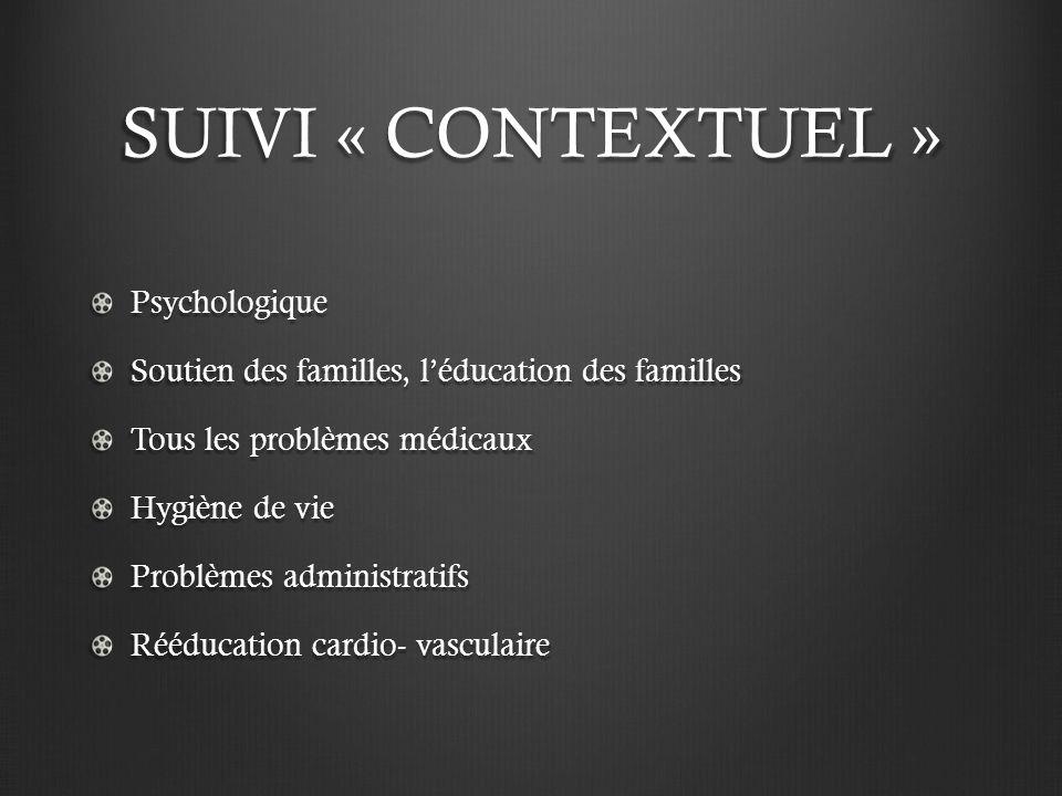 SUIVI « CONTEXTUEL » Psychologique