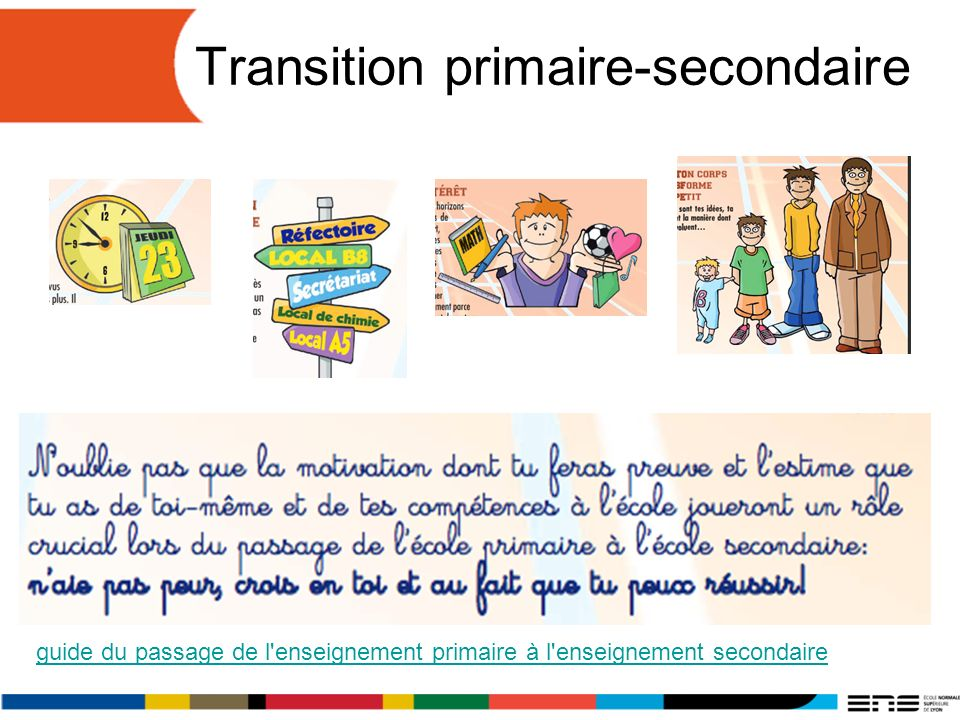 Transition primaire-secondaire