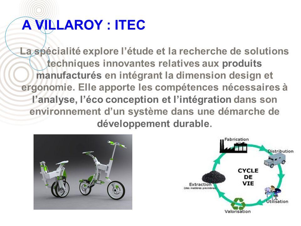 A VILLAROY : ITEC