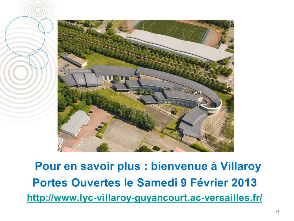 Pour en savoir plus : bienvenue à Villaroy