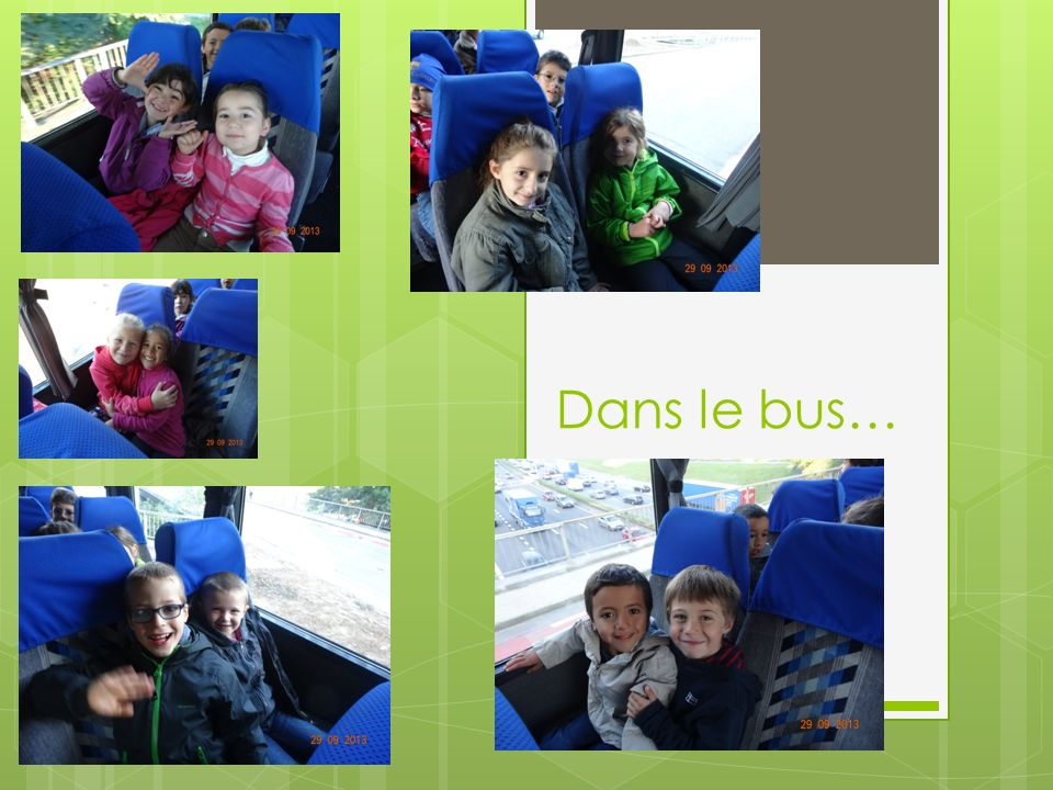 Dans le bus…