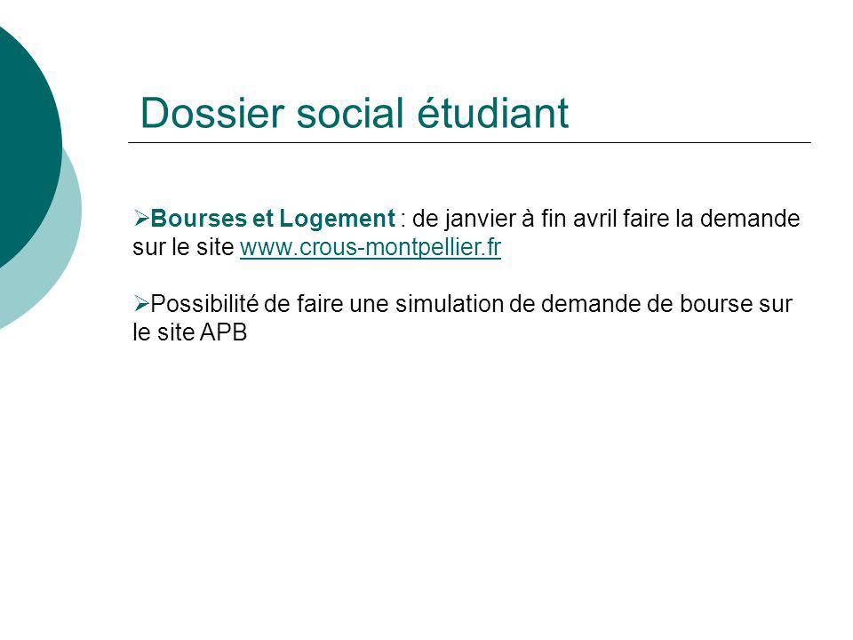 Dossier social étudiant